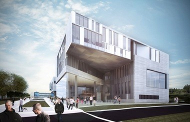 The WRL proposal for the KSU architecture building was the only one in which a Northeast Ohio firm stood on its own, without tapping a lead design consultant from outside the region.