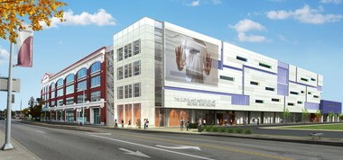 A rendering of the Cleveland Institute of Art expansion.
