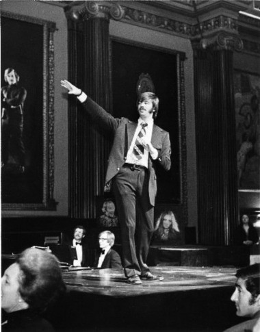 Educator turned impresario and urban restoration pioneer Ray Shepardson gave a curtain speech during one of the cabaret shows he staged in the State Theatre lobby in the 1970s to demonstrate that people would flock to downtown Cleveland for entertainment.