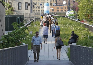 The High Line Park in New York, co-designed by James Corner Field Operations, the firm leading the redesign of Public Square in Cleveland, has been hailed globally as a masterpiece of urban design. It has also enormously boosted adjacent property values and development potential.