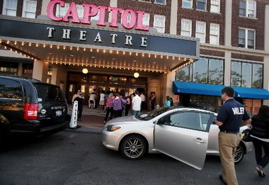 An opening at the renovated Capitol Theatre in 2010. The movie theater's rebirth is part of the revitalization of the Gordon Square Arts District.
