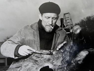 Clarence Van Duzer in the 1950s.