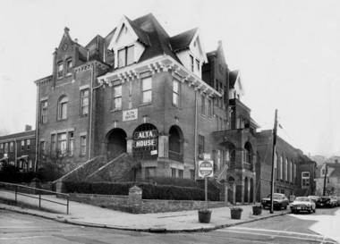 The original Alta House, as it appeared in 1969.