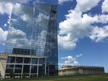 It's ok that Cleveland has one glassy downtown tower that melts into the sky, but how many more should it have?