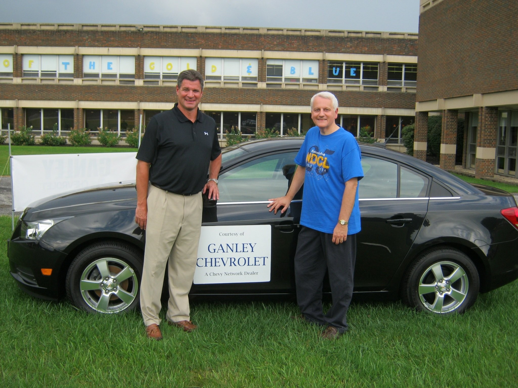 Ganley Chevrolet Donates A Car To Help Raise Money For Notre Dame Cathedral Latin Students Cleveland Com