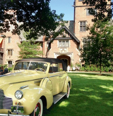 Stan Hywet's car show is one of the oldest in the country.