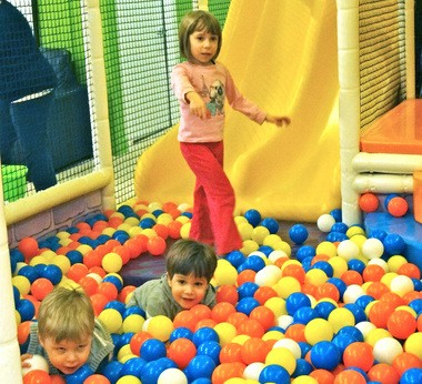 The ball pit is likely to be one of the most popular play areas for children at the new KidsPlay Indoor Fun in Avon Lake.