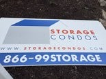 The only storage unit facility in town sells units like condominiums, causing problems for inspections.