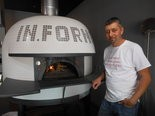 George Goodman, owner of In Forno Pizza in Avon.