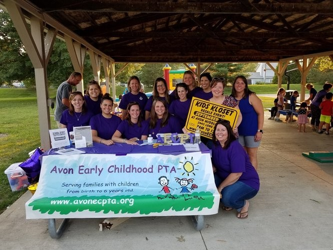 Avon Early Childhood PTA 2018 board members. (Photo: AECPTA)