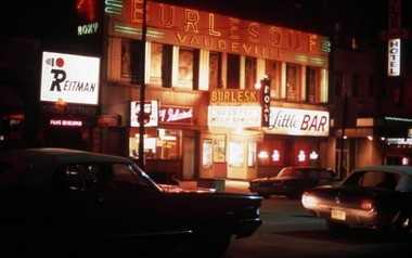 The Roxy in Cleveland hosted titillating shows by burlesque's biggest performers in the 1940s and 1950s. It closed in 1977, after a steady, seedy decline that mirrored the descent of burlesque. Bella Sin has been raising money to erect a marker honoring its unique place in Cleveland history.