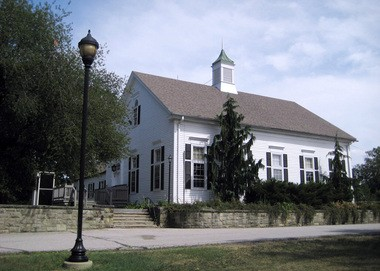 The Community House in Cahoon Memorial Park will serve as the new home of the Village Bicycle Co-op.