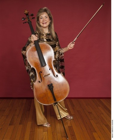 Cellist Sharon Robinson will perform at this year's Music for Food benefit concert for the Kosher Food Pantry.