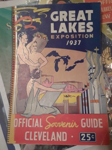 When an aquacade was an aquacade -- a program from the Great Lakes Exposition of 1937. The Cleveland Heights High Swim Cadets will carry on the tradition Feb. 28 to March 2.