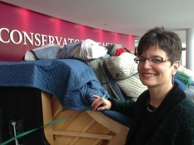 BW Conservatory Director Susan Van Vorst welcomes a dozen Steinways