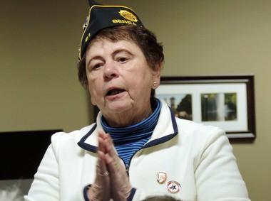 Consolina Templeman was one of more than a dozen women who attended the Women Veterans' Appreciation Luncheon on Feb. 9 in Berea.