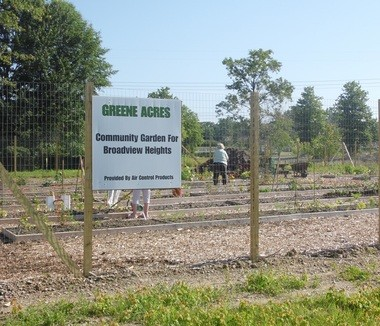 A few plots still remain at the Greene Acres Community Garden, 1100 Towpath Trail, in Broadview Heights.