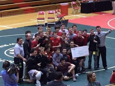 BBHHS Wrestling won the 2015 state wrestling championship on Feb. 14 in Columbus and their 10th Southwestern Conference team title.