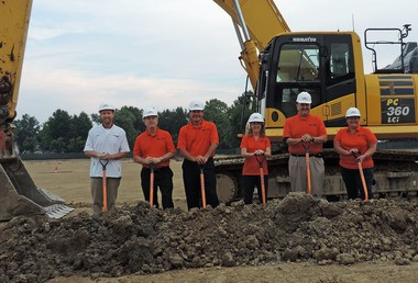 The groundbreaking ceremony for the new Berea-Midpark High School took place early Thursday morning.