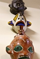 Guinea Pottery Masks