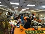 Vendors offer their wares at the Fall Festival craft fair.
