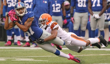 Former Akron and Giants receiver Domenik Hixon is on the Browns radar in free agency.