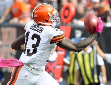 Josh Gordon's productive 2012 season and a belief he'll be better in 2013 gave the Browns reason not to sweat not having a second-round pick in last weekend's NFL draft.