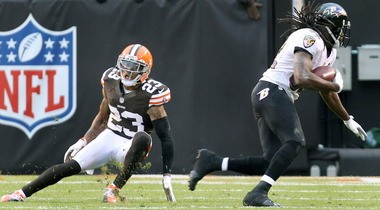 Joe Haden says he doesn't like to wear pads in his pants because it makes him feel slower.