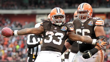 Trent Richardson fell short of a 1,000-yard season as a rookie, but he remains a solid piece for the power offense expected to be installed by offensive coordinator Norv Turner.
