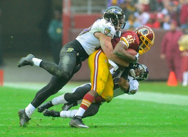 Baltimore's Paul Kruger has taken greater responsibilities within the Ravens defense in his two years as a starting linebacker.