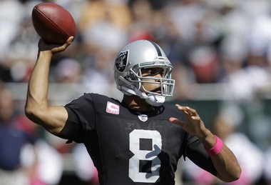 Jason Campbell will push Brandon Weeden for the starting job, but is willing to mentor him too.