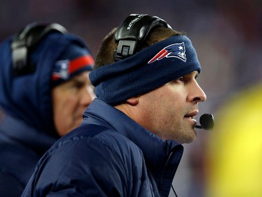 New England Patriots offensive coordinator Josh McDaniels was a key figure in the Browns coaching search.