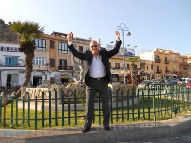 Tony Gumina took his whole family to Sicily in Italy to celebrate his wife's 60th birthday.