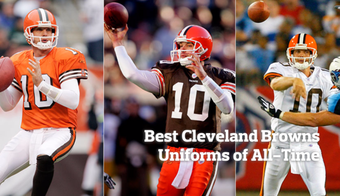 free shipping ea796 5c4e6 Ranking the best Cleveland Browns uniforms of all-time ...