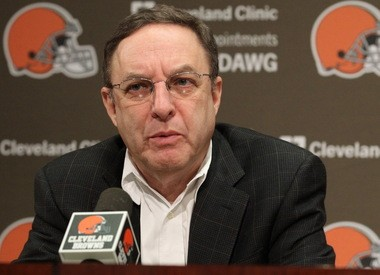 Former Browns CEO Joe Banner brought a more analytic approach to the Browns in 2013.