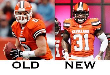on sale 4bdd2 ab8ac Cleveland Browns uniform tracker: Orange jerseys debut on ...