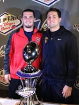 Cody Kessler and Derek Carr trained together under David Carr as high schoolers in Bakersfield, Ca.