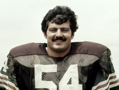 Center Tom DeLeone played for the Browns from 1974-84. (Courtesy Cleveland Browns).