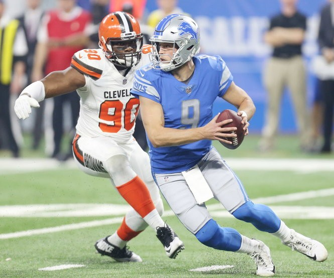 Kirk Cousins and Lions quarterback Matthew Stafford have posted nearly identical numbers over the last three seasons.