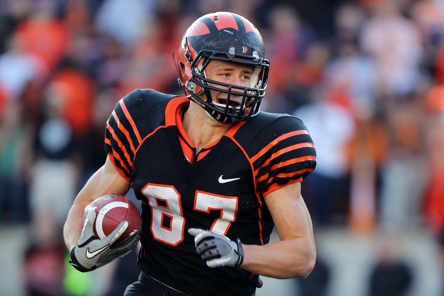 Browns draft tight end Seth DeValve of Princeton at No. 138 ...
