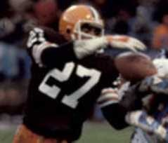 Browns all-time interceptions leader Thom Darden.