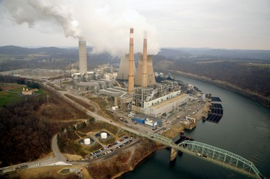 The Hatfield's Ferry power plant in Pennsylvania has the capacity to generate more than 1,700 megawatts. The power plant's three boilers are fueled with coal. FirstEnergy has closed the plant