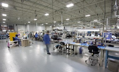 Employees of Valtronic, which makes small electronic devices, work inside a Solon building the company bought last year. The privately held manufacturer, based in Switzerland, more than doubled its Northeast Ohio space with help from local and state incentives for adding jobs. Expansions like Valtronic's helped boost the region's industrial occupancy to 92.4 percent last year, according to the NAI Daus real estate brokerage.