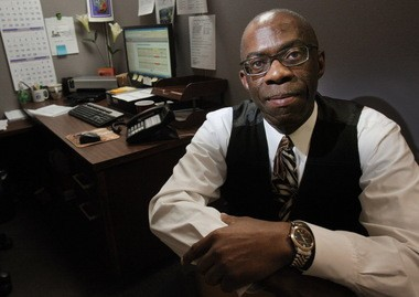 George Newton of Cleveland, 60, has years of experience as an administrative assistant, but has been unemployed for more than two years. He said being an older worker has hampered his job search. Data show that workers 55 and older have the highest long-term unemployment rates. Until he can land a job, Newton is part of the AARP Foundation Senior Community Service Employment Program in Cleveland, where he is assigned as a billing clerk in a training program.