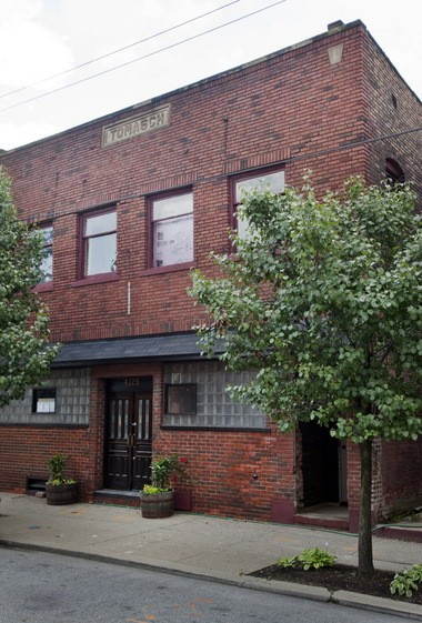 This building, at 4125 Lorain Ave. in Cleveland's Ohio City neighborhood, will house a brewery and brewing incubator on the first floor and the offices of JC BeerTech upstairs.