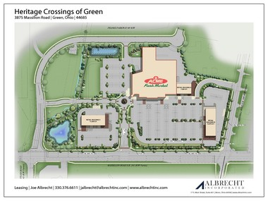 The Acme Fresh Market at Massillon and Graybill Roads will be the second supermarket in Green when it opens in July 2014.
