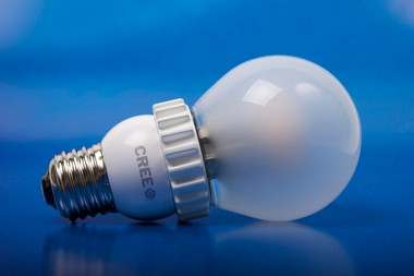 The Cree LED household light bulb
