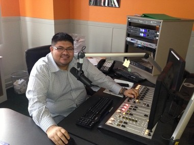 Daniel Melendez, 29, is programming director at La Mega 87.7 FM, which went on the air in Greater Cleveland Jan. 1st.