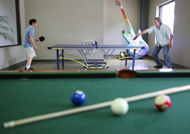 Employees compete for fun but work together at Hyland Software, according to a Fortune magazine survey that resulted in Hyland being named one of the nation's best places to work.