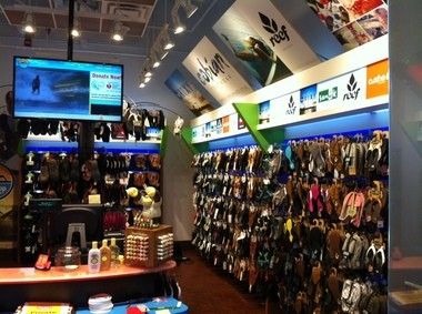 ab4bc2f902b2 The interior of the Flip Flops Shop at Beachwood Place Mall is as colorful  as the